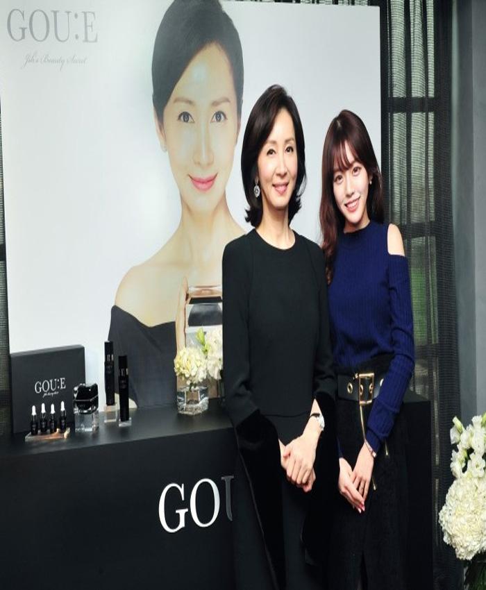 일동제약 고유에(GOU:E)화장품 촬영장에 현장실습을 다녀온 박수연 학생!