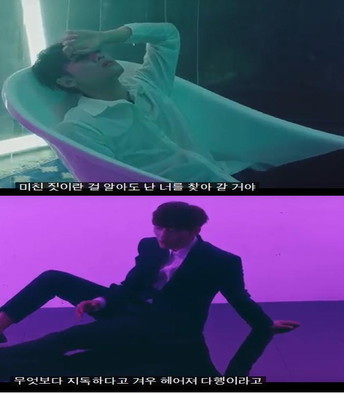백퍼센트★ 뮤직비디오 촬영현장~